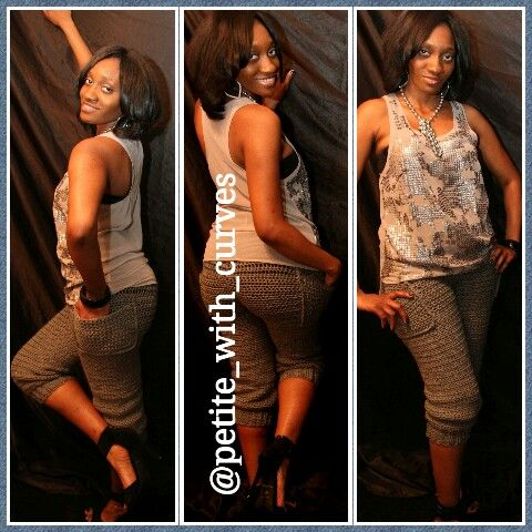 #leggings #casual #conservative #crochet #cute #grown #sexy  Instagram @petite_with_curves Facebook.com/petitewithcurves
