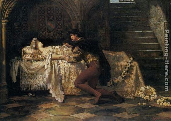 Sidney Muschamp - Francis Sidney Muschamp (1851-1929) Romeo and Juliet