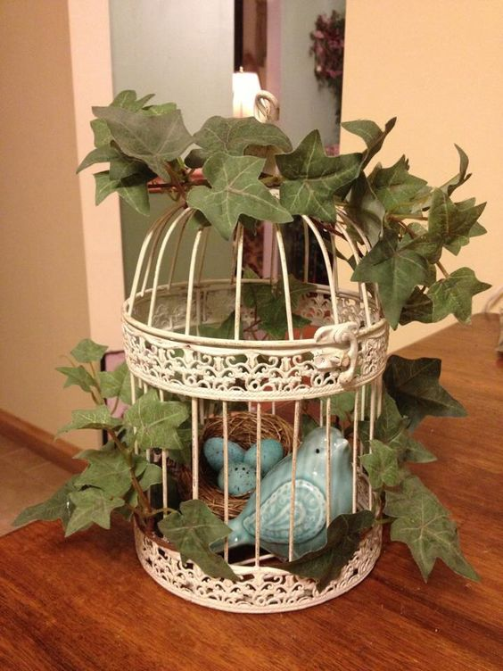 bird cage decoration my creative crafty ideas pinterest birds decoration and bird cage. Black Bedroom Furniture Sets. Home Design Ideas
