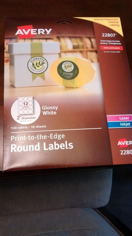 Avery 2 Round Label Template Avery White Glossy Round Labels Label Templates Round Labels Labels