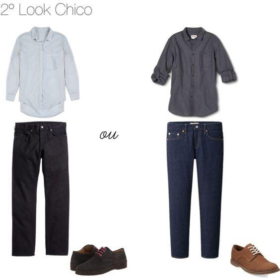 """2º look Chico"" by flaviadebom on Polyvore"