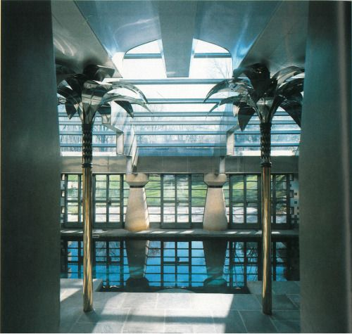 Poolhouse by Robert Stern, 1984.