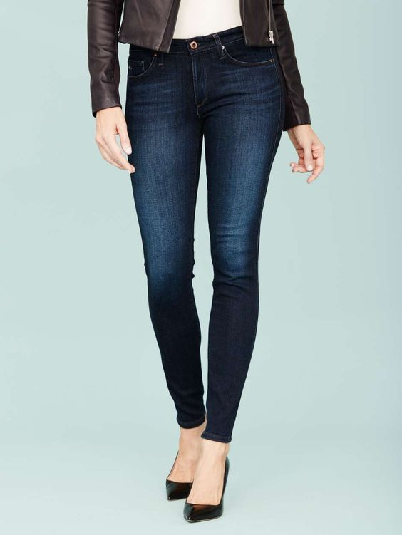 Dark Denim  The perfect pair has the power to truly transform how you look and feel. Whether you dress 'em up or dress 'em down, dark denim jeans will always work, and always impress.: