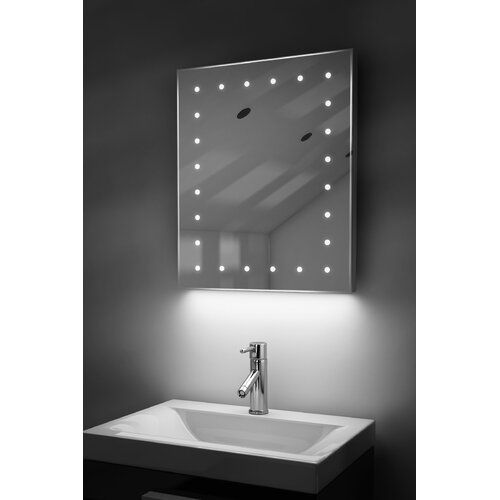 Mccown Fog Free Bathroom Mirror With Shaver Socket Belfry Bathroom Full Length Mirror In Bathroom Mirror Cabinets Illuminated Mirrors
