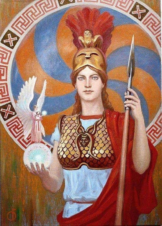 Athena αθηνά Amm M D Magna Grecia Commonwealth Greek Goddess Art Egyptian Goddess Art Mythology Art