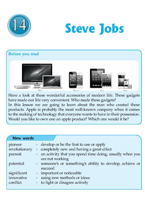 ... english literature and more literature job 1 steve jobs biography