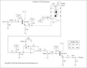 TS9 Tube Screamer Mods: Schematics | Guitar pedals, Guitar, Tube Ibanez Tube Screamer Schematic on