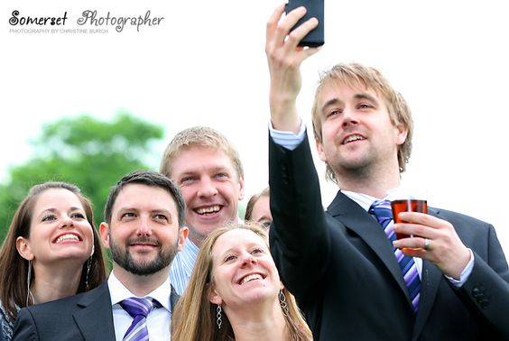 Happy, Smiley, Selfie Wedding Guests #selfies ##happyandsmiling #weddingguests: