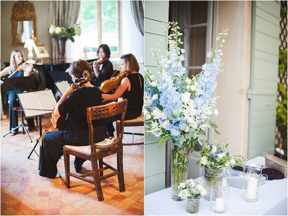 Wedding quartet Provence | Image by Marion Heurtreboust, see more http://goo.gl/Oqdp6o