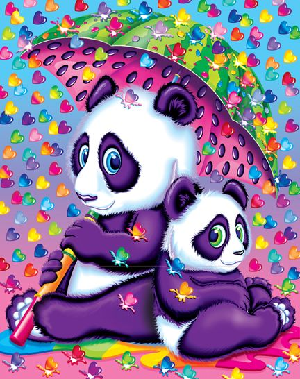 you guys, it rains chubby hearts in lisa frank land