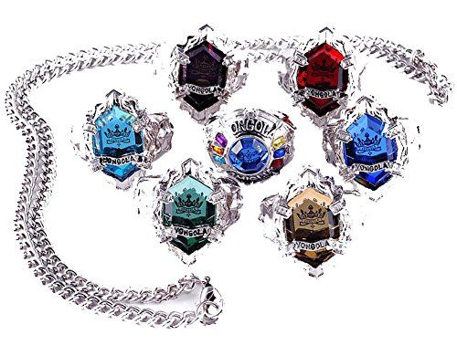 Touirch Anime Jewelry Hitman Reborn Vongola Ring Necklace Cosplay