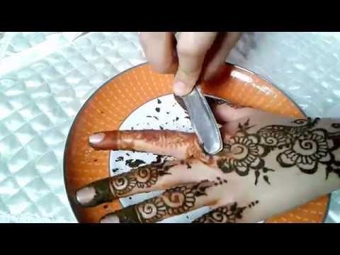 الطريقة التي استعملها لازالة الحناء مع وصفة لجعلها اكثر نظارة من سلسلة دروس تعليم النقش بالحناء تلبية لطلب Simple Mehndi Designs Mehndi Designs Mehndi Simple