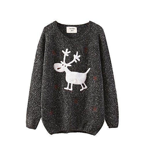 #christmassweater #reindeersweater