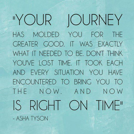 The Journey..... is right on time