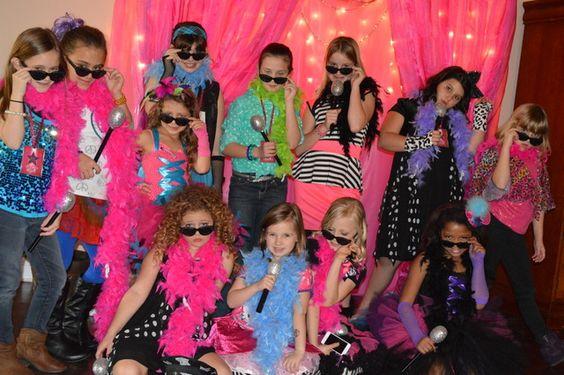 Pop Star Birthday Birthday Party Ideas | Photo 20 of 33 | Catch My Party