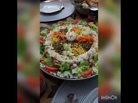 طرق تقديم سلطات Youtube In 2021 Salad Cobb Salad Food