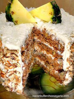 Bacon, Butter, Cheese & Garlic: Lady Hummingbird Cake for the Young Lady