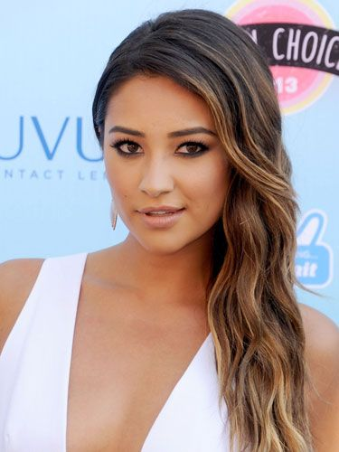 Shay Mitchell: Smoky Bottom Liner