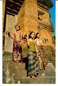 Balinese Dancers in Traditional Dress
