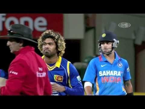 Virat Kohli punishing Malinga and Celebrating his century in Hobart, Australia - HD Video
