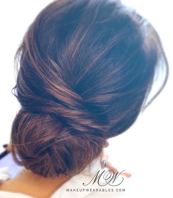 good hair styles for women 2 minute bun tutorial lazy easy hairstyles 6163 | f446246c84d53c6163f2b4cdf3fe2f21