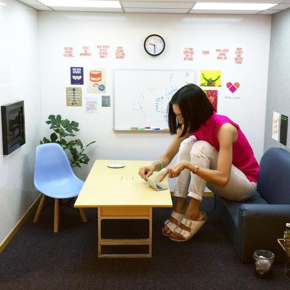 Eva Chen auf Instagram u201eWhen they said the NY office of Instagram - m bel f r kleine k chen