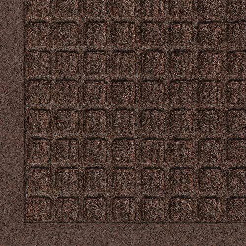 New M A Matting 280 Waterhog Fashion Polypropylene Fiber Entrance Indoor Outdoor Floor Mat Sbr Rubber Backing 6 Length X 4 Width 3 8 Thick Dark Brown Onli In 2020 Outdoor Floor Mats Water