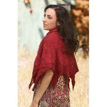 Firebird Shawl Knit Pattern - Willow Yarns
