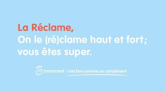 Innocent affiche en 4×3 les compliments de sa communauté #communication
