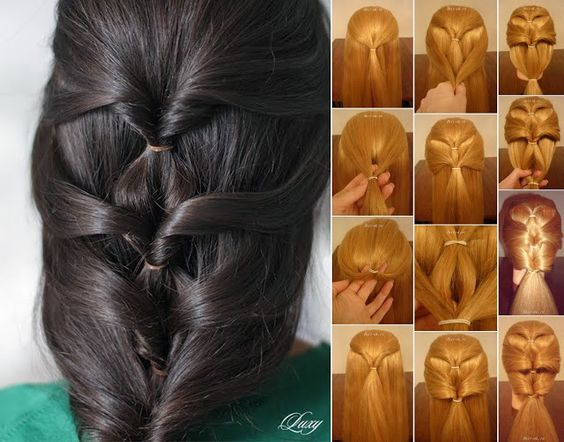 Groovy Hair Styles Easy Videos And Twists On Pinterest Short Hairstyles Gunalazisus