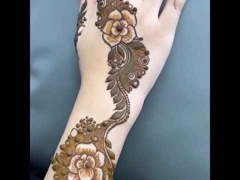 جديد نقش حناء ورود روعه Youtube Henna Tattoos