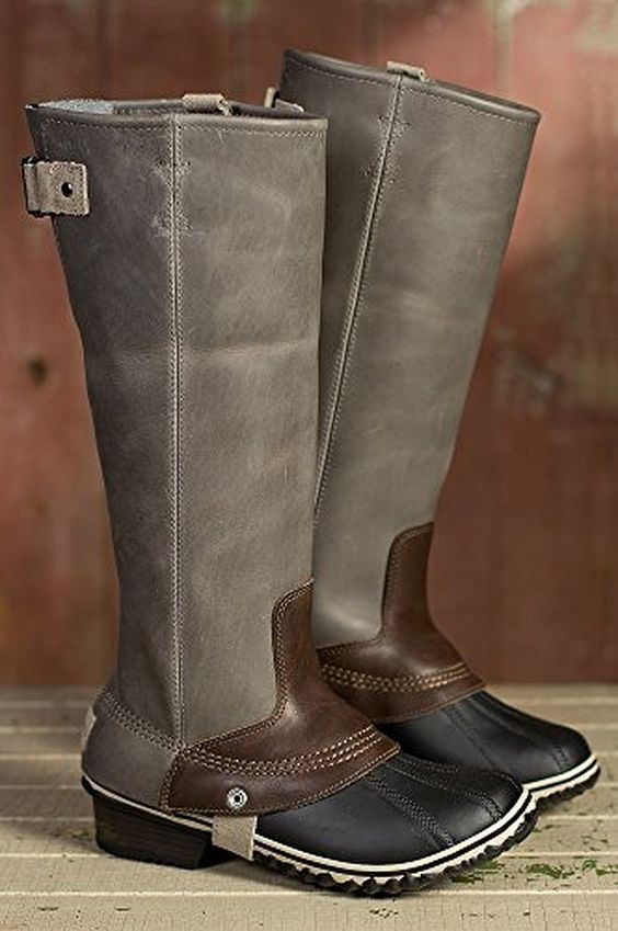 boots: Sorel Slimpack Riding Boot -winter must have. | fashion ...