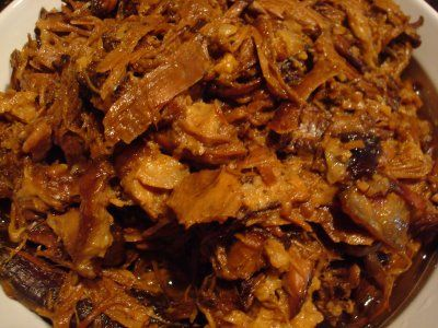 Slow Roasted (crock pot) Pulled Pork with Brown Sugar and Apple Juice ...
