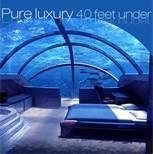Under the sea hotel - Figi! What a hotel!!