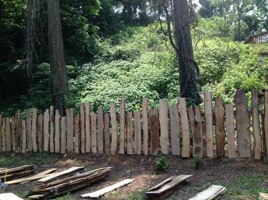 rustic garden fence garden pinterest g rten. Black Bedroom Furniture Sets. Home Design Ideas