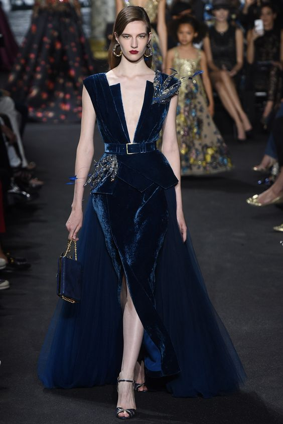 Elie Saab Fall 2016 Couture Fashion Show - Vlada Chokhar:
