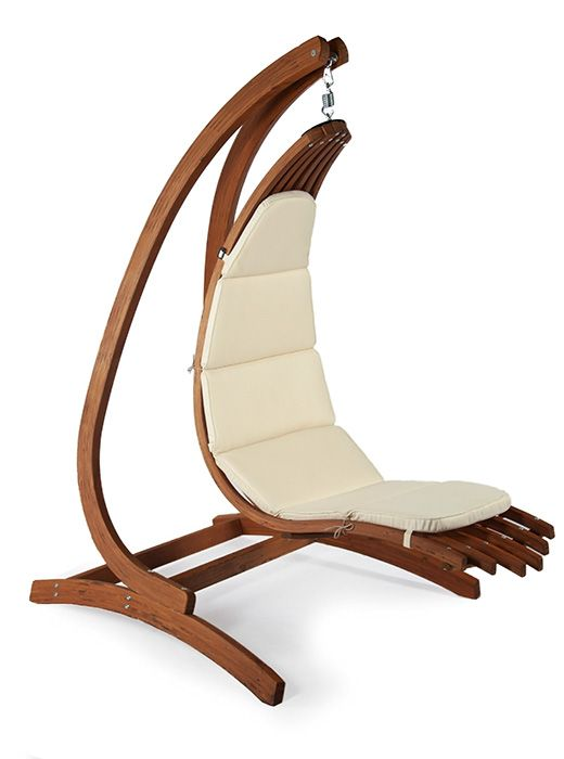 New Trend 2019 Outdoor Furniture With Style Hanging Lounge Chair Hammock Chair Stand Swinging Chair