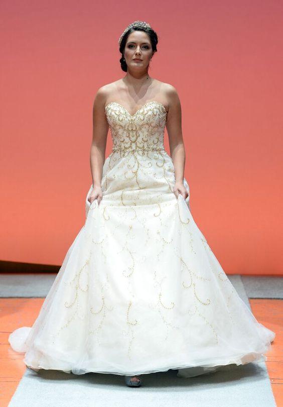 Cinderella inspired dress 2016 disney 39 s fairy tale for Alfred angelo cinderella wedding dress
