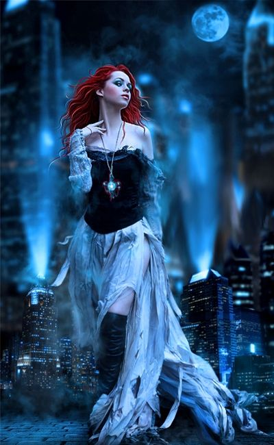 Female Fantasy Gothic Bloody Art | Fantasy Gothic Art, Pictures, Images