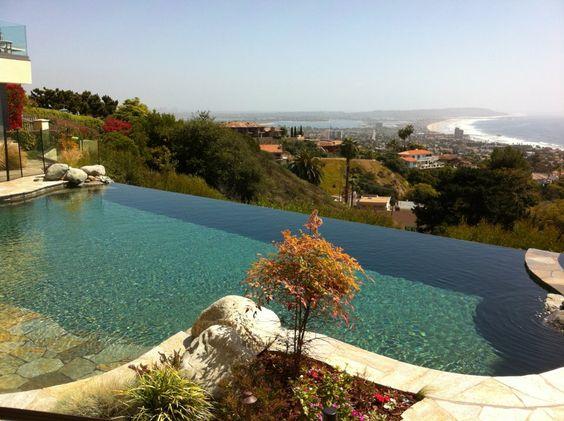 San Diego pool purified.