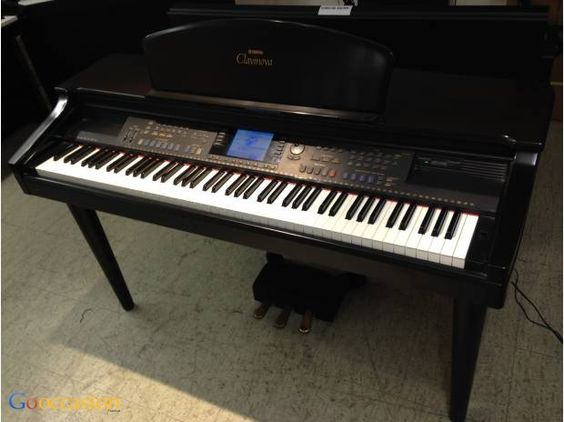 Piano numérique Yamaha Clavinova CLP-107 - http://www.go-occasion.fr/piano-numerique-yamaha-clavinova-clp-107/