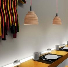 Lampade da soffitto in Porcellana : Modello CITRIC