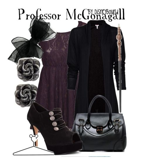 """Professor McGonagall"" by lalakay on Polyvore #harrypotter"
