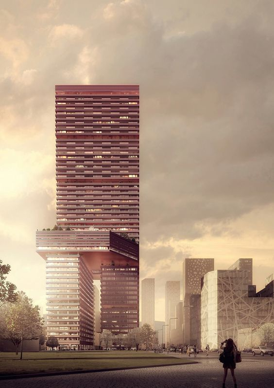 Mecanoo . Liuxiandong Tower . Shenzhen (1)