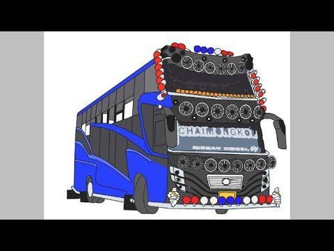 วาดร ป รถบ สสวยๆ Youtube