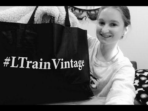 L Train Vintage Thrifting Haul Thrifting Train Vintage