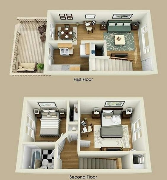 Semoga menginspirasi . . . + Kami menerima jasa desain rumah kompli