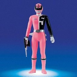Power Rangers SPD S.P.D. Pink Ranger Action Figure (Sentai Hero Series Dekaranger No. 5) http://www.amazon.com/Rangers-S-P-D-Ranger-Action-Dekaranger/dp/B0002U3F1E/ref=sr_1_1?s=toys-and-games&ie=UTF8&qid=1446697822&sr=1-1&keywords=Power+Rangers+SPD+S.P.D.+Pink+Ranger+Action+Figure+%28Sentai+Hero+Series+Dekaranger+No.+5%29