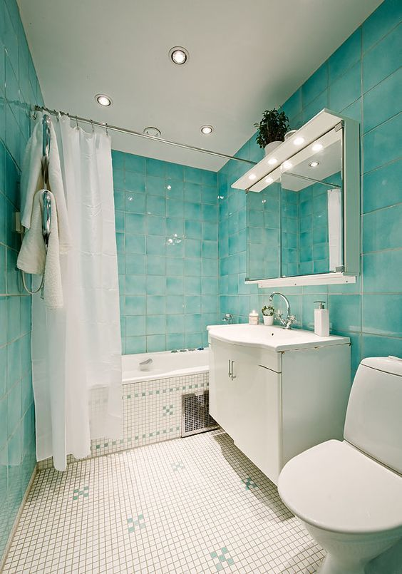 bathroom decorating ideas in blue coolest bathroom decor with turquoise color to consider  bathroom decor with turquoise color