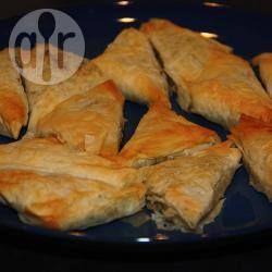 Photo recette : Samoussa de thon aux poireaux